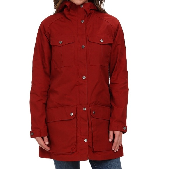 100% top quality for whole family save up to 80% Fjallraven Greenland Parka Light women's sz M red